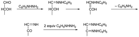 Fischer Phenylhydrazone and Osazone Reaction