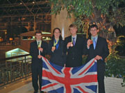 UK olympiad team in Korea