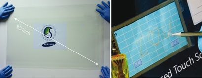 Graphene film and graphene-based touchscreen