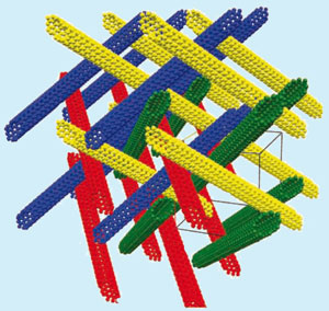 Carbon nanotube matrix for hydrogen storage