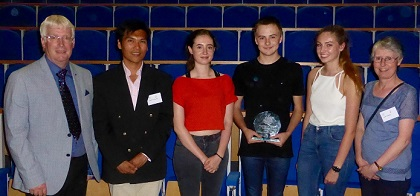 2017 Winners from Sir John Deane's College