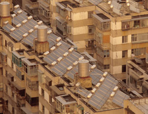 Solar power heats up in China