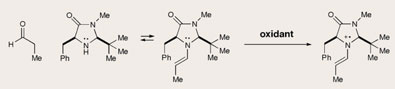 Radical reactions for organocatalysis