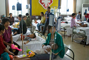 Heavy metal poisoning sparks protests in China