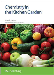 Book cover - Chemistry in the kitchen garden