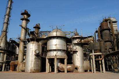 Chemical plants in China are starting to be criticised