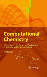 Book cover - Computational chemistry: introduction to the theory and applications of molecular and quantum mechanics (2nd edition)