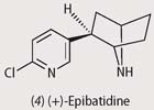 Chemical structure - epibatidine