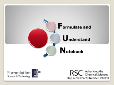The cover of the resource pack with the title Formulate and Understand Notebook