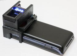 Bacteria phone detector