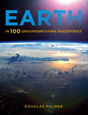 Book cover - Earth in 100 groundbreaking discoveries
