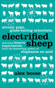 Book cover - Electrified sheep