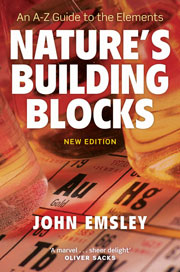 Book cover - Nature's building blocks: an A-Z guide to the elements