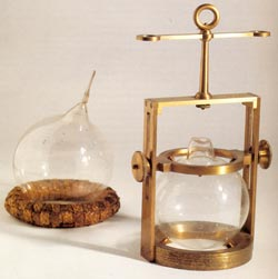 Early 19th century equipment to study gases