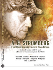 Book cover - A G Stromberg, first class scientist, second class citizen
