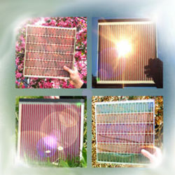 Gratzel dye-based solar cells