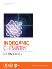 Cover image for Inorganic Chemistry Frontiers