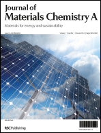 Cover image for Journal of Materials Chemistry A