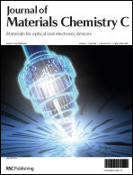 Cover image for Journal of Materials Chemistry C