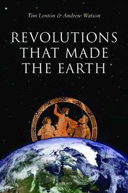 Book cover - 'Revolutions that made the Earth'