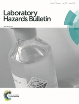 Cover image for Laboratory Hazards Bulletin
