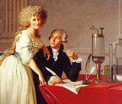 Lavoisier and his wife