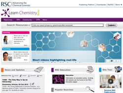The Learn Chemistry website