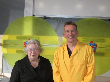 Dr Peterwothers MBE and Dr Diana Leitch MBE