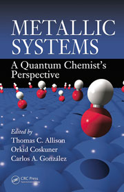 Book cover - Metallic systems: a quantum chemist's perspective