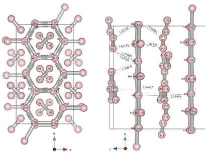 Graphene-like hydrogen