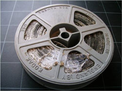 Mouldy film reel