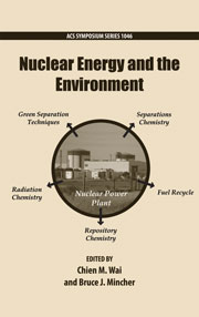 Book cover - Nuclear energy and the environment