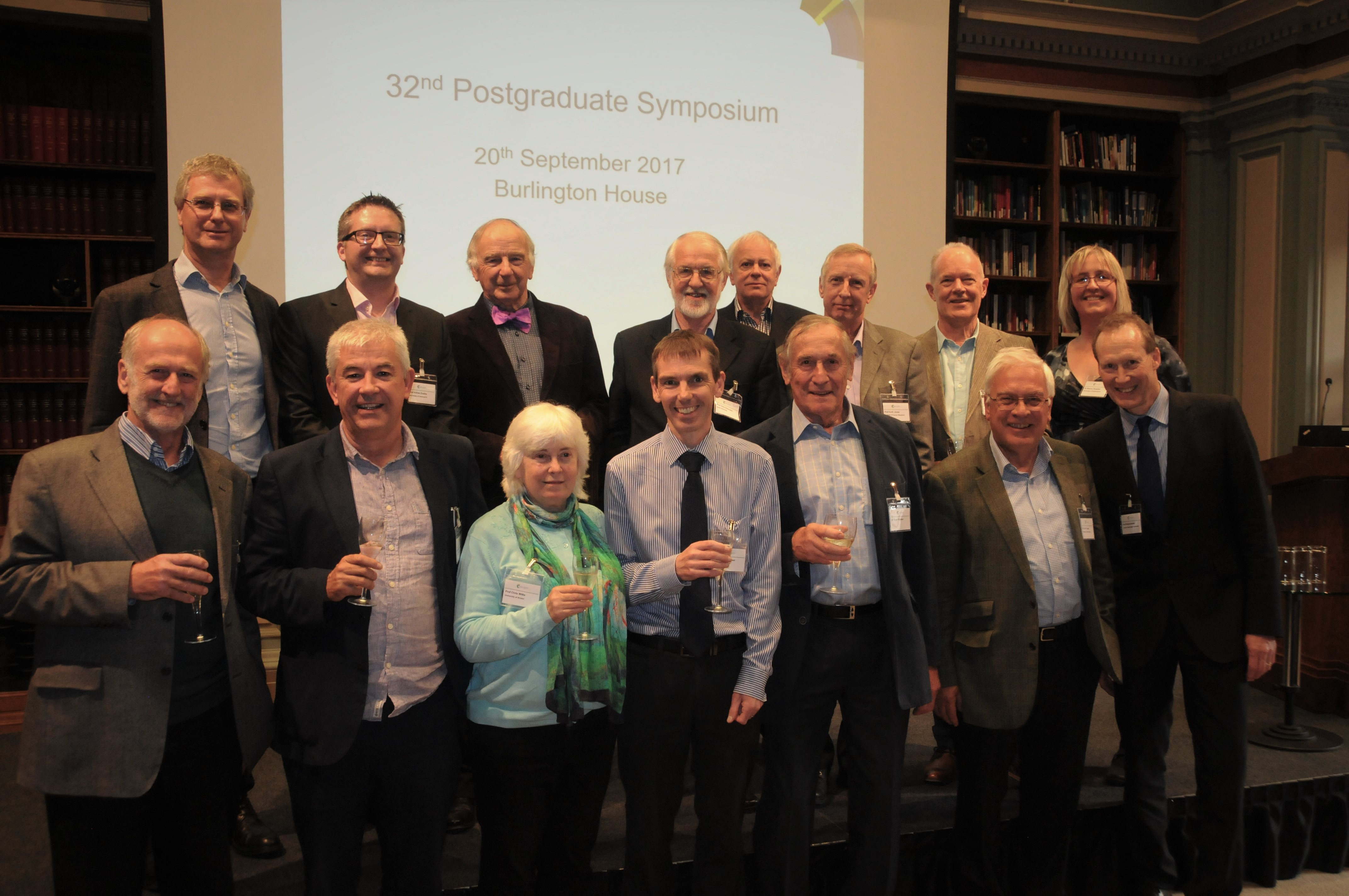 The Heterocyclic and Synthesis Group celebrates 50 years with a gathering of 15 of Chairs and Secretaries of the group.