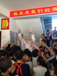 David Evans (Beijing Local Section) and Migrant Children
