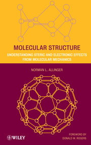 Book cover - Molecular structure: understanding steric and electronic effects from molecular mechanics