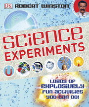 Book cover - Science experiments