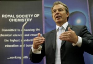 Tony Blair speaking at Parliamentary Links Day