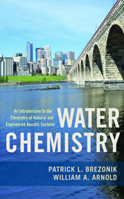 Book cover - Water chemistry