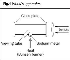 Fig 1. Wood's apparatus