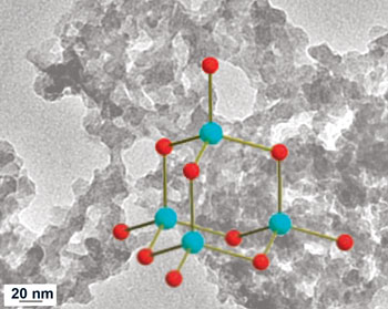 Chalcogels stabilised by metal centres