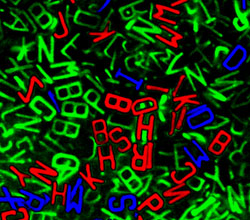 Microscopic letters
