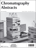 Cover image for Chromatography Abstracts