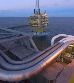 Carbon storage in the North Sea