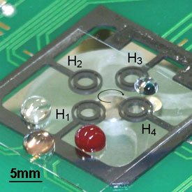 IBN's integrated lab-on-a-chip that can perform DNA analysis on whole blood samples