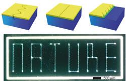 Контролируемые трещины в наноматериалах