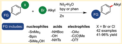Electrophile cross-coupling