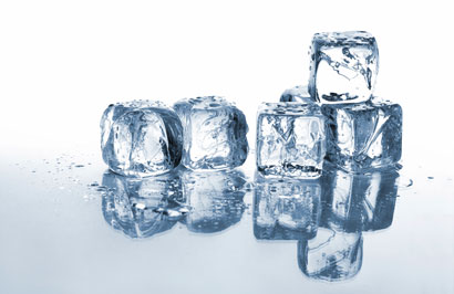 Ice's abnormally low compressibility and the way applying pressure ...