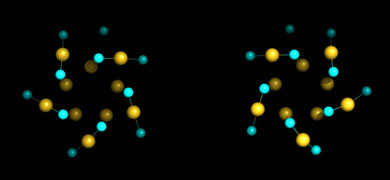 Gold nanoparticle is chiral