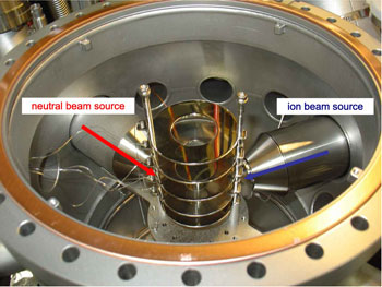 Crossed-beam experiment apparatus