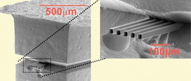 Nanoelectrospray emitter